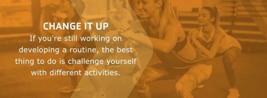 change up exercise routine