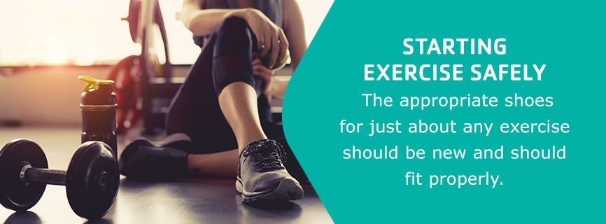 start your exercise routine safely