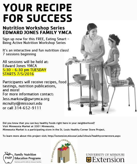 Nutrition Class Begins | Gateway Region YMCA
