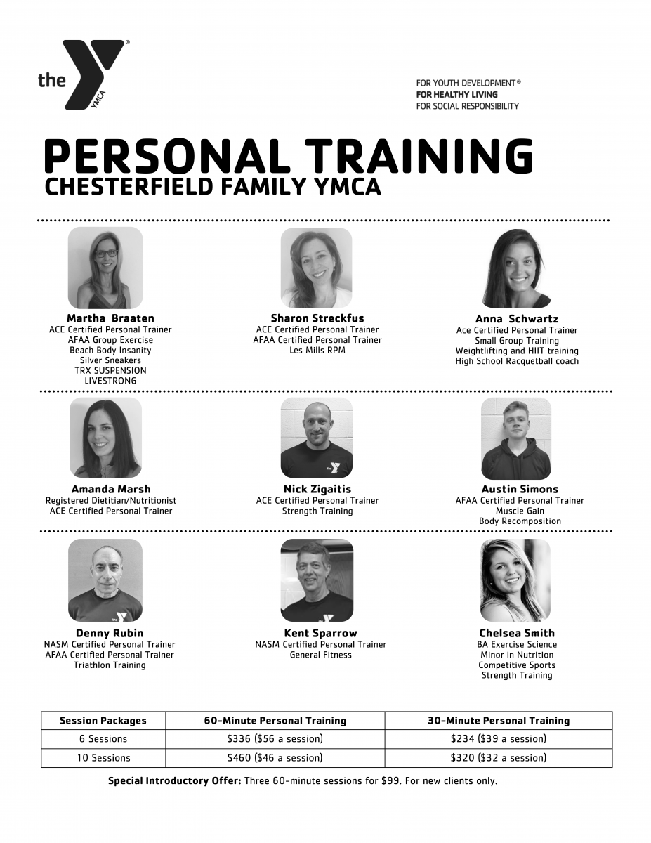 Meet Our Personal Trainers Gateway Region Ymca