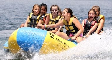 Camp Lakewood Banana Boat