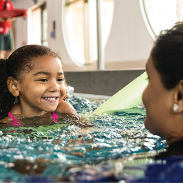 winter swimming lessons for youth, teens and adults