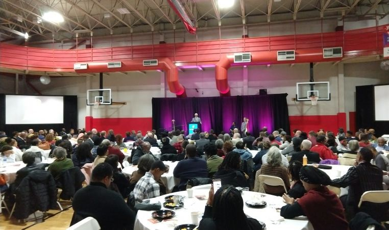 Martin Luther King Jr. Breakfast at Bayer YMCA