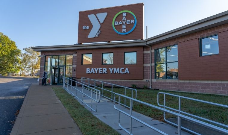 Bayer Ribbon Cutting