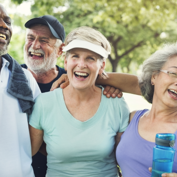 Active older adult free community health and wellness event