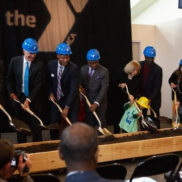 Bayer YMCA Groundbreaking and Renaming