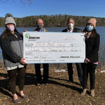 Lakewood and Trout COVID Grant from Ameren